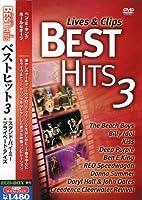 ベストヒット 3 ライヴ&クリップ PSD-2053 [DVD]