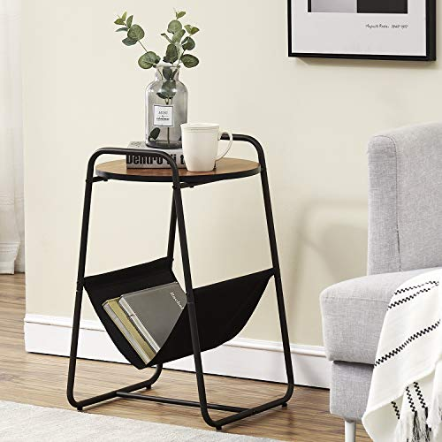 VECELO 2-Tier End/Side/Coffee/Table Nightstand for...