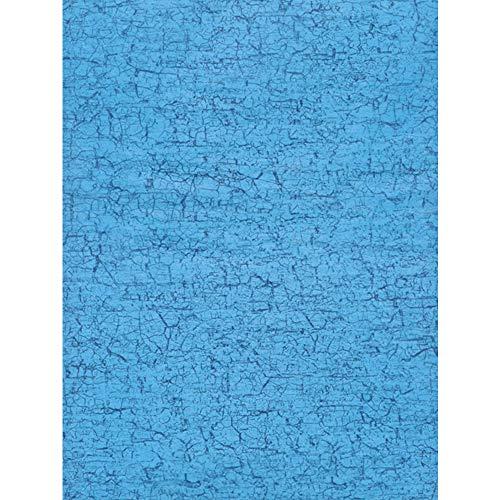 Décopatch Papier No. 302 Packung mit 20 Blätter (395 x 298 mm, ideal für Ihre Papmachés) blau craquelé