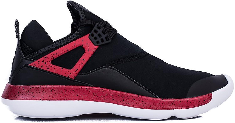 NIKE Men's Trainers Black Black Red