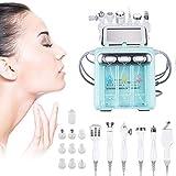 BEAUTTO 6-in-1 Professionnel Machine de l'oxygène de l'hydrogène Beauté, Anti Aging Diamant Microdermabrasion Machine Water Peeling Hydro Dermabrasion RF Scrubber Hydra Facial Machine