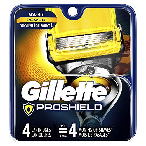 Gillette Fusion5 ProShield Men's Razor Blades, 4 Count