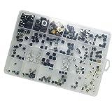 DollaTek 25 Modelos 250 unids Interruptor de botón táctil Interruptor Micro botón Interruptor de Mantenimiento de Juguetes DIY Interruptor