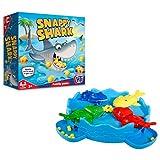 HTI Juguetes Tradicionales Juegos Hambriento Snappy Shark Juego de Mesa para niños Adultos niños y niñas, 1374311
