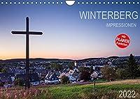 Winterberg Impressionen (Wandkalender 2022 DIN A4 quer): Eine Kleinstadt im Hochsauerland (Geburtstagskalender, 14 Seiten )