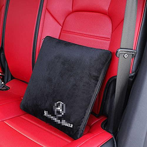 NIUASH Seggiolino Auto poggiatesta Collo Cuscino Schienale Supporto Lombare Cuscino Cuscino Trapunta, per Mercedes-Benz Tutti i Modelli 2003~2021