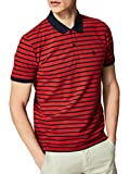 Photo de SELECTED FEMME Polo Manches Courtes à Rayures ARO Taille : Homme Rouge S