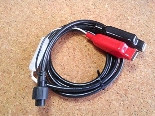HONDEX 魚探用 電源コード DC06 ワニ口クリップ セット(塩水対応高耐久品)