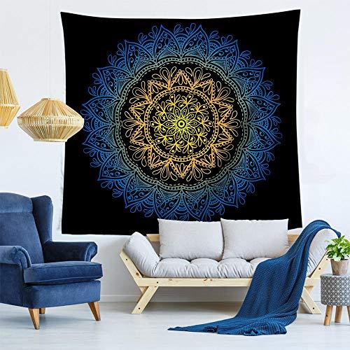 Psychedelischer Wandteppich Mandala Großer Schal von...