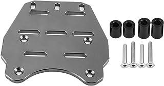 black EBTOOLS CNC Motorcycle Rear Luggage Rack Cargo Holder Shelf,Cargo Shelf Bracket for PCX 125 14-17,Aluminum