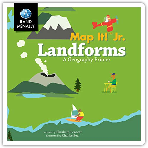Map It! Jr Landforms Boardbook