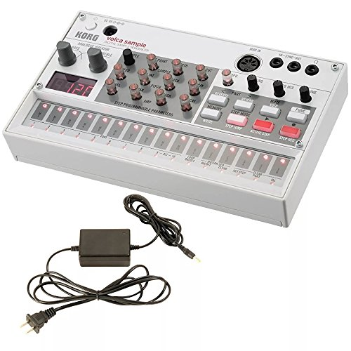 Buy Korg Volca Sample Digital Sample Sequencer and Korg 9V600MACPP 9v 600ma Power Supply