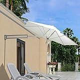 Sombrilla de pared HWF para balcones y jardines