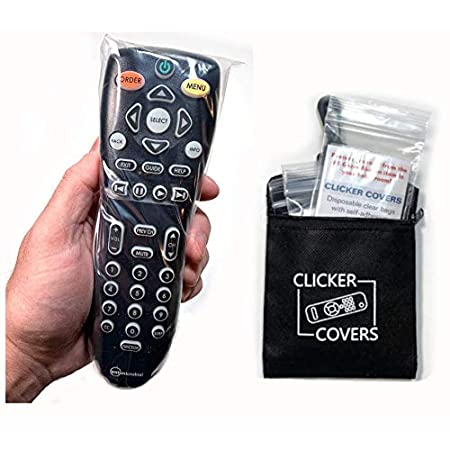 Corona Virus protection products Home and Hotel TV Remote Controls – Clicker Covers Disposable Clear Bags with
