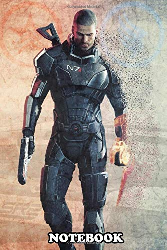 Notebook: Commander Shepard , Journal for Writing, College Ruled Size 6