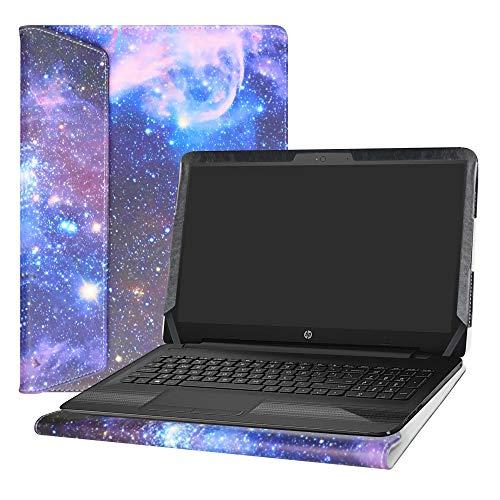 Alapmk Protective Case Cover for 15.6 HP Notebook 15 15-daXXXX (Such as 15-DA0012DX)/15-dbXXXX (Such as 15-DB0011DX 15-DB0010NR) Laptop[Not fit 15-bsXXX/15-bwXXX/15-acXXX/15-ayXXX],Galaxy