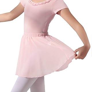 Faldas de Ballet de Gasa Danza Tutú Clásico Corta Ropa de Baile para Niñas Mujer Tul Elástica Cintura