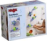 Haba 6699 - Kugelbahn Badespaß Wasserstrudel, spritziger Kugelbahn-Spaß ab 3 Jahren für die...