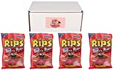 RIPS Licorice Candy Pack of 4 (Rippin' Reds)