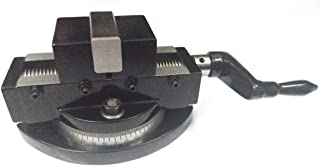 Self Centering Milling Machine Vice with Swivel Base 2