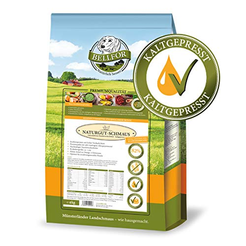 Bellfor Naturgut-Schmaus 4 kg - Insekten - Getreidefrei - Kaltgepresst