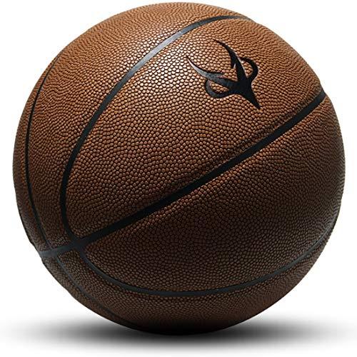 Best Price WENPINHUI Street Basketball - Composite Basketball, Teen Rubber Basket, 7th, Dark Brown (...