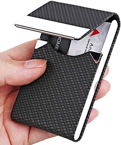 Business Card Holder Metal Business Card Case Pocket Card Holder for Women Men Professional product image