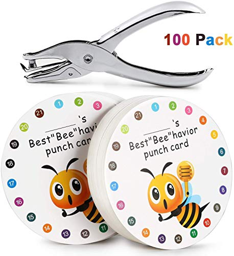 """(40% OFF Coupon) Reward Punch Cards – Best """"Bee"""" havior $10.79"""