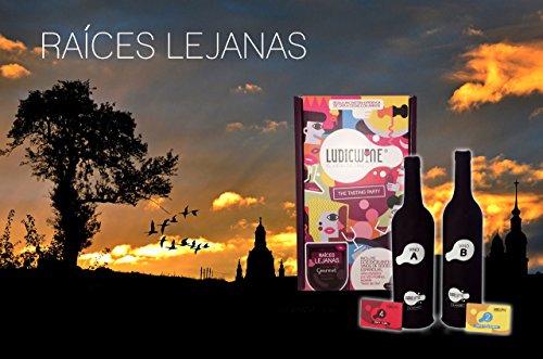LudicWine El Juego del Vino- Cata a Ciegas Edición Gourmet Raices Lejanas