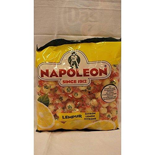 Napoleon Bonbons Lempur 1000g Beutel (Zitronenpulver-Kern)