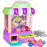 FUN LITTLE TOYS Mini Claw Machine Game Toy with Light and Sounds,...