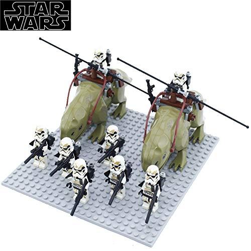 bas Anime Figuren Star Wars Action-Spielzeug Spielen Soldaten, Mandalorianer, Darth Vader, Klonsoldaten Sammlerstück Modell Kindergeschenk Sandtrooper