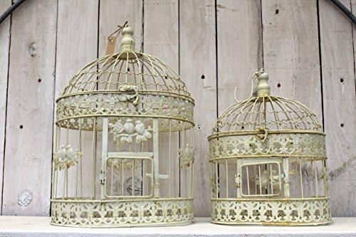 Gweny´s Haus Deko Vogelkäfig Romantik 2er Set