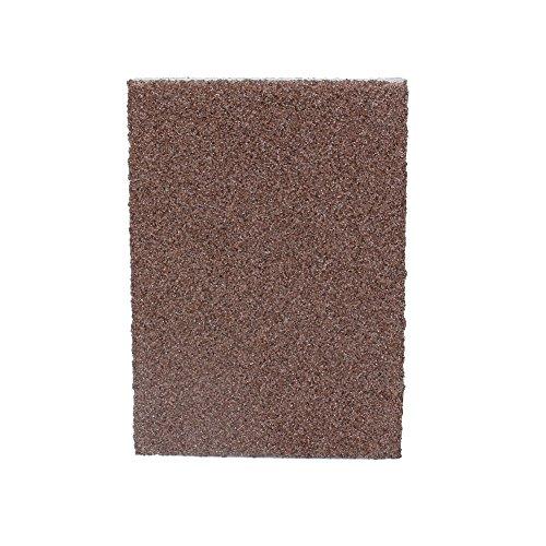 Esponja de esmeril portátil, cepillo limpio para pote, fácil de quitar, vida útil más larga, 10 x 7 x 2,5 cm, hecho de esmeril
