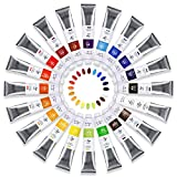 Paul Rubens Oil Paint, 20 Bright Oil Colors with High Saturation, 50ml Large...