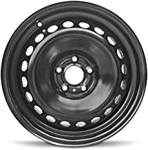 Road Ready Car Wheel For 2008-2019 Nissan Rouge 17 Inch 5 Lug Black Steel Rim Fits R17 Tire - Exact OEM Replacement - Full-Size Spare