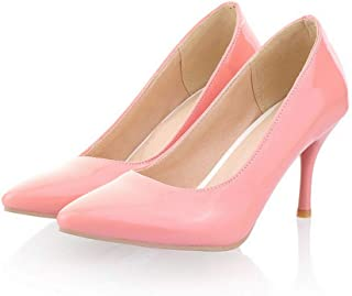 Girls Raspberry Pink Pump Shoes size adult 5