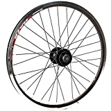 GJZhuan Ruedas De Bicicleta Delantera/Trasera Llantas, V-Brake/Freno de Disco Bici de BMX Ruedas 20' 406 Plegable Delantera de la Bicicleta Rueda Rueda Trasera 100/135mm 8/9 Velocidad