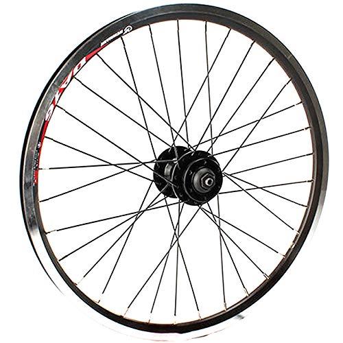 GJZhuan Ruedas De Bicicleta Delantera/Trasera Llantas, V-Brake/Freno de Disco Bici de BMX...