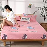 CYYyang colchón Acolchado, antialérgico antiácaros, Sábana Impermeable de un Solo Producto hotel-17_180cm × 200cm