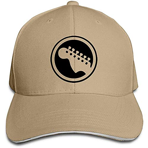 Dale Hill Gorra de béisbol Unisex Logotipo de la Guitarra