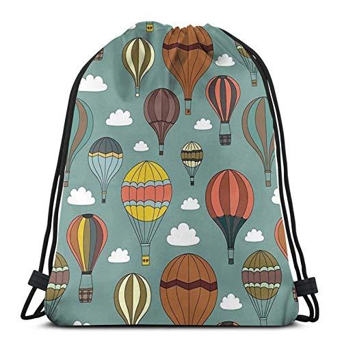 WH-CLA Drawstring Bags Vintage Pasta Poster Italien Print Outdoor Casual Strandtasche Männer Kordelzug Taschen Kordelzug Rucksäcke Leichte Einzigartige Frauen Aufbewahrung Cinch Taschen F