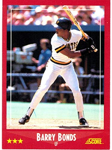 1988 Score with Rookie Traded Pittsburgh Pirates Team Set with Barry Bonds & Andy Van Slyke - 25 MLB Cards