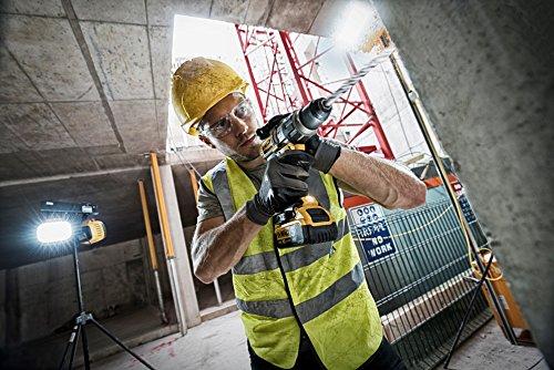 DeWalt Schlagbohrschrauber (18 Volt Akku-Dreigang, 11-stufiges Drehmomentmodul, drei-Stufen-LED mit 77 Lumen, inkl. 2x Akkus, System-Schnellladegerät, TSTAK Box und Zubehör) DCD996P218