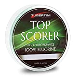 Tubertini Hilos de Pesca Top Scorer 0.14 mm 150 m Fluorine Spinning Surfcasting Boloñesa