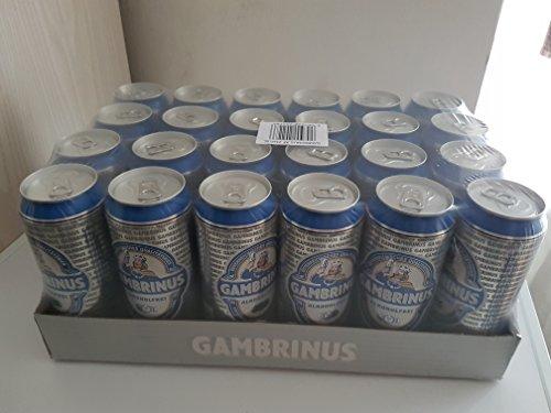 Gambrinus 24x500 ml 24er Tray ohne Pfand (Alkoholfrei)