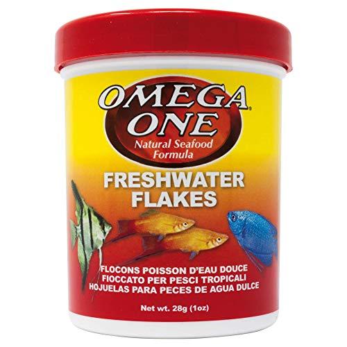 Omega One Freshwater Flakes, 1 oz