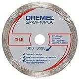 Dremel SM540 3-Inch Tile Diamond Wheel , Black