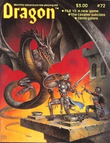 Dragon Magazine, No. 72