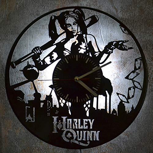 51-myyyDahL Harley Quinn Clocks